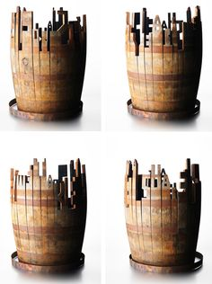 Glenfiddich Barrel Art | johnson banks - this would make a great idea for Yarra Valley winemakers