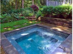 perfect plunge pool | hot tub