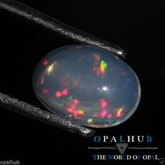 1.50 Cts 100% Natural Ethiopian Welo Fire Opal Cabochon Stone Play Color 4767