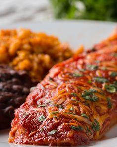 Veggie-Packed Enchiladas For The Fam