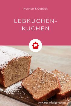 Lebkuchen-Kuchen The gingerbread cake works quite simply and is prepared within a few minutes. Incidentally, it is also ideal outside the Christmas bakery as a sweet. Mini Desserts, Easy Desserts, Plated Desserts, Baking Recipes, Cookie Recipes, Spice Bread, Cake Works, Gingerbread Cake, Christmas Gingerbread