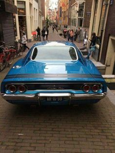 1968 Charger in bright blue! #Classic #American #MuscleCar
