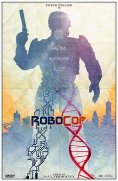 Again, fans did better (artistic) job in poster artwork department, than multi-billion movie-making enterprises…  (Source: http://danieleredrossini.deviantart.com/art/Robocop-Movie-Poster-449147674)