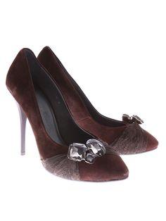 Masimo Zardi pantofi pentru dame cafeniu Peeps, Peep Toe, Shoes, Fashion, Moda, Zapatos, Shoes Outlet, Fashion Styles, Shoe