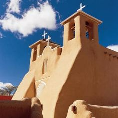 San Francisco de Asis Church, Taos is one of the most photographed churches in the world.