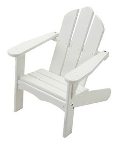 Take a look at this White Personlized Adirondack Chair by Little Colorado on #zulily today!