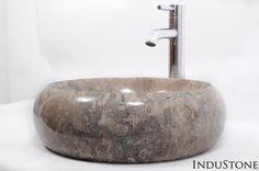 DN-P GREY H 40 cm kamienna umywalka nablatowa INDUSTONE