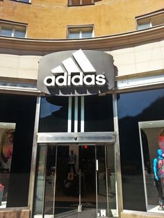 Adidas Store in Stockholm!