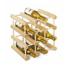 Design-Your-Own Wine Racks - A wooden option