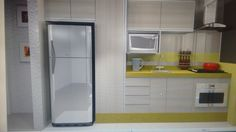 Cozinha amarelinha super linda!!!