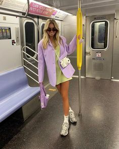 Closet full of clothes but nothing to wear? Read on for 96 new outfit ideas to wear when you're bored of your clothes. Mode Outfits, Trendy Outfits, Fashion Outfits, Womens Fashion, Fashion Trends, Purple Outfits, Trendy Clothing, Dress Fashion, Aesthetic Fashion