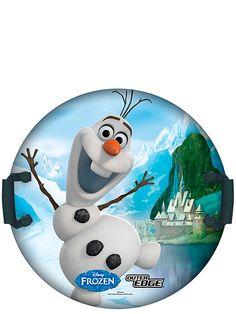 Frozen-liukurilla pääset vauhdin hurmaan! Liukuri vie sinut mäenlaskun viimaisiin tunnelmiin Olofin kanssa. Liukurilla voit laskea luotisuoraan tai vaikka pyörien hyrrän lailla. Liukurin halkaisija 61cm. Sopii parhaiten 5-12 vuotiaille.