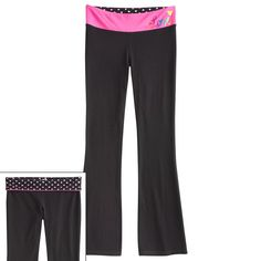 SO® Reversible Bootcut Yoga Pants - Girls 7-16