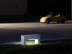 Cement Floor lamp CEMENTO STYLE 106L Cemento Style Series by Lineaventi | design Italo Belussi