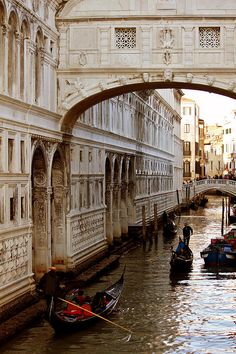 A local legend says that lovers will be granted eternal love and bliss if they kiss on a gondola at sunset under the Bridge Of Sighs as the bells of St Mark's Campanile toll.