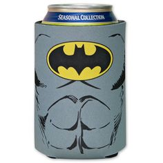 BATMAN DC Comics Justice League SUPERHERO Beer Soda CAN KOOZIE HOLDER COOLER New