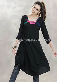 Check out this product on Alibaba.com APP stylish ladies embroidered stitched kurti for ladies