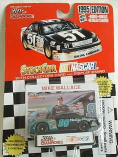 1995 Racing Champions #90 Mike Wallace Heilig Meyers Ford Thunderbird 1:64 Rare #RacingChampions #Ford