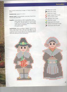 Thankful Pilgrims Pattern