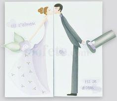 faire part mariage rgalb modle j484 avec impression - Faire Part Mariage Regalb
