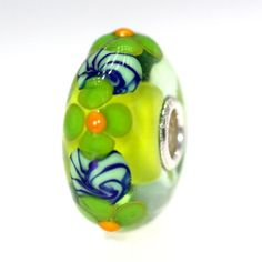 Ah, looks like Spring to me! Trollbeads Gallery - Classic Unique 8153, $45.00 (http://www.trollbeadsgallery.com/classic-unique-8153/)