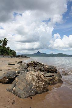 Mayotte, Tahiti plage et le mont Choungui