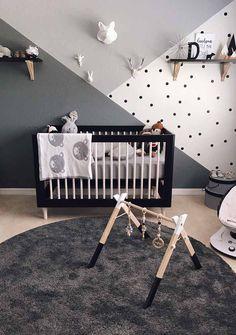 Adorable Nursery Design and Decor Ideas for your little ones - Baby Room Ideas Zoo Nursery, Project Nursery, Zoo Project, Nursery Themes, Woodland Nursery, Baby Room Themes, Nursery Decor Boy, Girl Themes, Baby Room Wall Decor