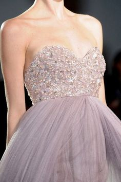 no question that I am obsessed with organza & tulle and a little beaded bodice on this gorgeous ballgown