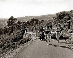 ..Merckx & Tom Simpson, Paris-Nice, 1967!