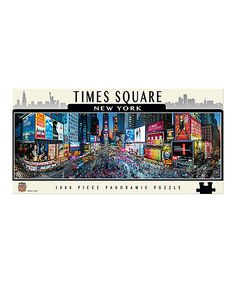 Times Square Panoramic 1,000-Piece Puzzle