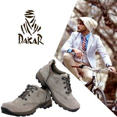 Dakar para arrasar no visual. Confira os calçados em couro na Adoro Presentes e não perca estes preços irresistíveis! #Dakar #Moda #Masculina #Fashion #Man #homens #Style #AdoroPresentes #Adoro #Presente #ideias #Calçados