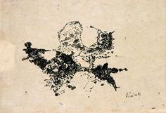Der Maler Max Weiler 1910-2001 | Kunst - Zeichnungen und Arbeiten auf Papier - Malen auf Papier, 1984-2001
