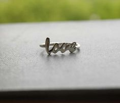 Love Ring Sterling Silver