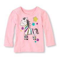 Baby Girl Clothes   Baby Girl Tops and Baby Girl Shirts   The Children's Place #bigbabybasketsweeps