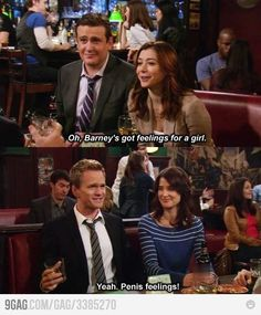 Himym Barney has feelings How I Met Your Mother, Barney And Robin, We Heart It, Ted Mosby, Cinema, Mother Quotes, I Meet You, I Love To Laugh, Best Shows Ever