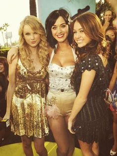 Taylor Swift, Katy Perry, & Old Miley