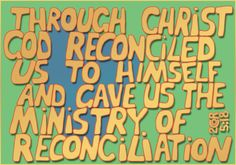 2 Corinthians 5:18, one of several versions
