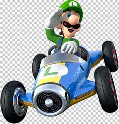 View an image titled 'Luigi Art' in our Mario Kart 8 art gallery featuring official character designs, concept art, and promo pictures. Mario Kart 8, Super Mario Kart, Mario Bros., Mario And Luigi, Kid Character, Character Design, Mario Tattoo, Nintendo Characters, Children's Characters