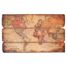 Carte du Monde Wall Decor