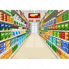Illustration about Products in a supermarket, illustration. Illustration of store, shopping, products - 21864447 Anime Scenery Wallpaper, Anime Backgrounds Wallpapers, Episode Interactive Backgrounds, Episode Backgrounds, Scenery Background, Animation Background, 2d Game Background, Cartoon Background, Casa Anime