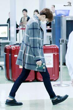 151112: EXO Kai (Kim Jongin); Gimpo Airport to Kansai Airport #exok #fashion #style