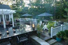 Private Residence: Russell, Ohio - traditional - deck - cleveland - THE OHIO VALLEY GROUP, INC.