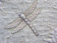 sandra leichner quilts   Sandra Leichner's award winning wholecloth quilt...this was stunning.