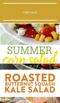 Summer Corn Salad - a light, flavorful salad filled with corn, tomatoes, feta, basil and cucumber. It's perfect for BBQs and will be a hit at any party! healthy salad Corn Salad