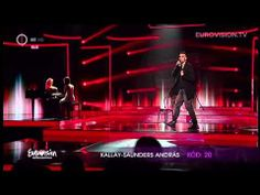 András Kállay-Saunders - Running (Hungary) 2014 Eurovision Song Contest - YouTube