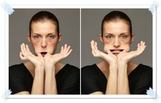 Facial gymnastics for a toned face- Ginnastica facciale per un viso tonico facial gymnastics for cheeks and - Face Gym, Face Yoga, Wellness Fitness, Yoga Fitness, Bodybuilding Routines, Face Massage, Natural Beauty Tips, Yoga Benefits, Pilates Workout