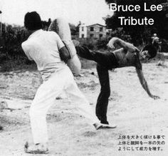Bruce behind the scenes of The way of the dragon