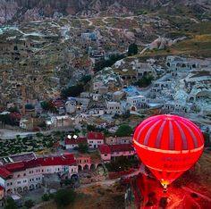 Kapadokya by evening, just exquisite.