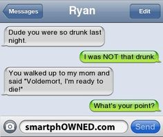 Drunk... - - Autocorrect Fails and Funny Text Messages - SmartphOWNED