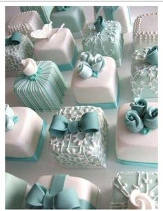 For a shower Tiffany's themed, or Audrey Hepburn themed :)